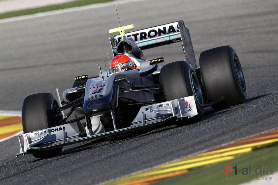 Schumacher vuelve a las pistas