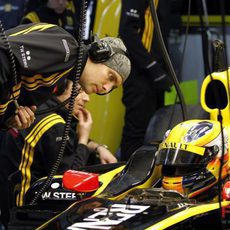 Petrov aprende de Kubica