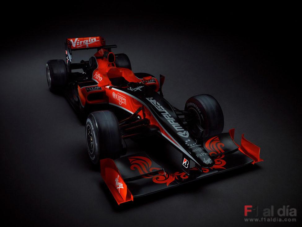 El VR-01 de Virgin Racing