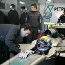 Rosberg se prepara