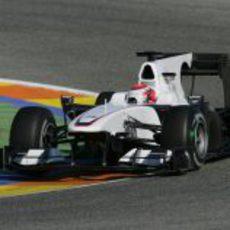 Segundo día del Sauber en pista