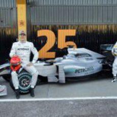 ¿Schumacher por delante de Rosberg?