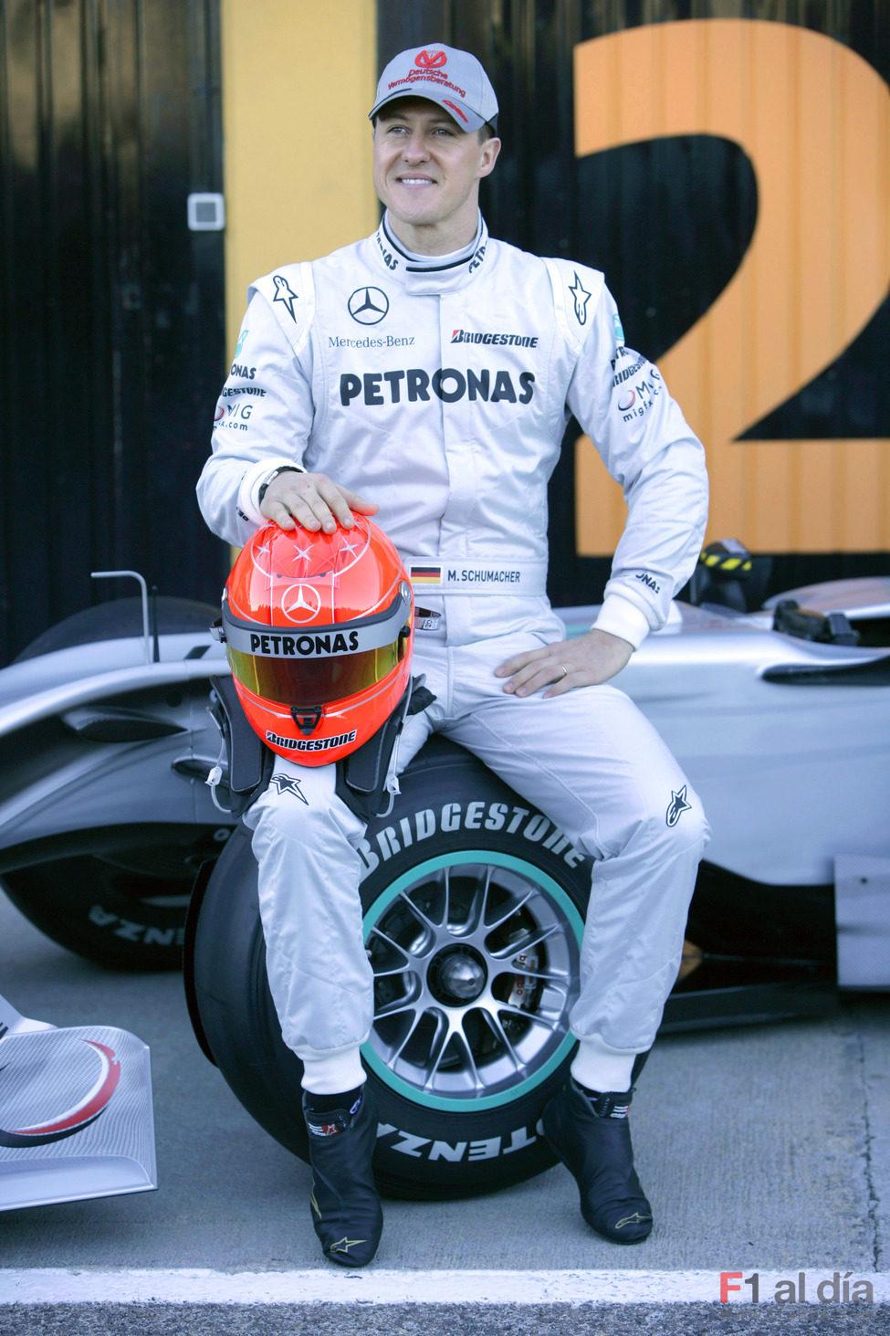 Michael Schumacher confiado
