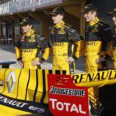 D'Ambrosio, Kubica, Petrov y Tung
