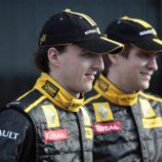Kubica y Petrov, una pareja joven