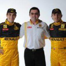 Petrov, Boullier y Kubica