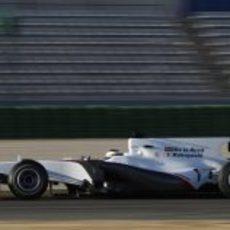 El Sauber C29 en acción