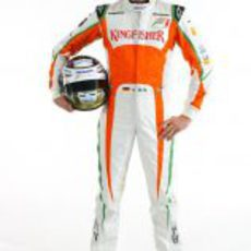 Adrian Sutil, piloto de Force India