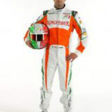 Vitantonio Liuzzi, piloto de Force India