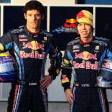 Mark Webber y Sebastian Vettel