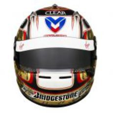 El nuevo casco de Timo Glock