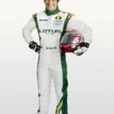 Jarno Trulli, piloto de Lotus