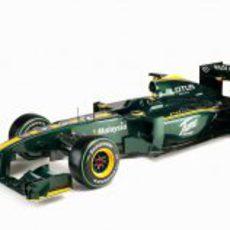 Lotus Racing presenta su equipo