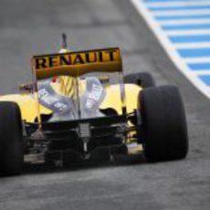 'Difusor' del Renault al descubierto