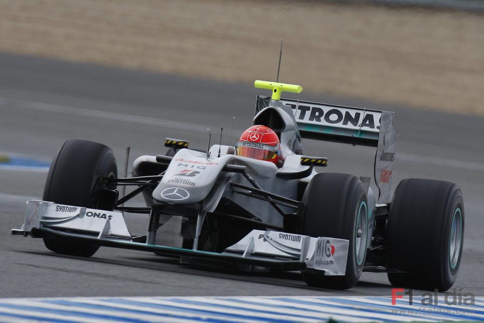 El Mercedes de Schumacher