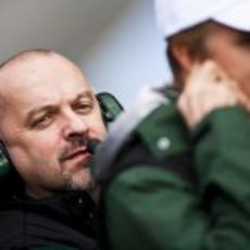 Mike Gascoyne (y Heikki Kovalainen)