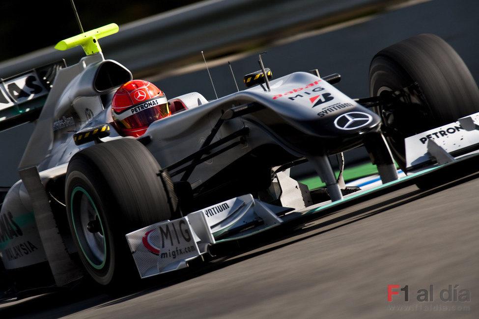 Tercera semana de Schumacher en España