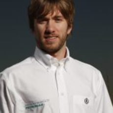 Nick Heidfeld, piloto probador de Mercedes