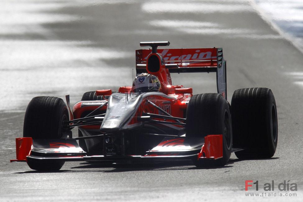 El VR-01 rueda en Jerez