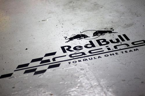 Red Bull Racing en blanco y negro