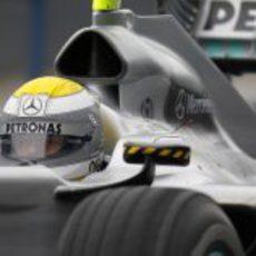 Rosberg y la 'flecha plateada'