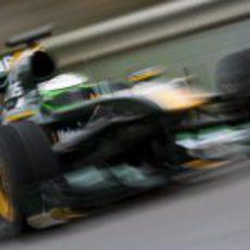 El Lotus a toda velocidad