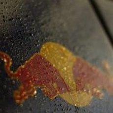 Red Bull mojado