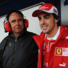 Botín y Alonso en Jerez