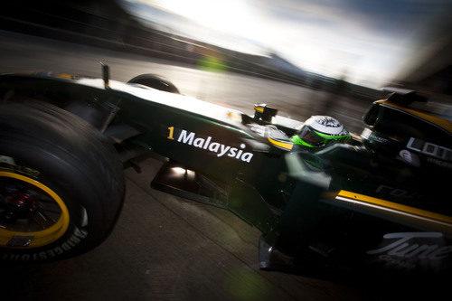 Lotus es un equipo malayo