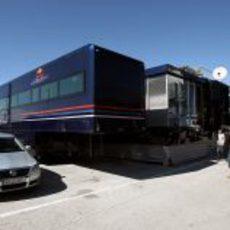 El 'motor-home' de Red Bull