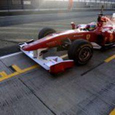 Alonso vuelve a madrugar
