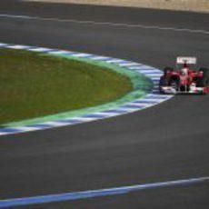 El asfalto todo para Fernando
