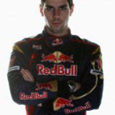Jaime Alguersuari, piloto de Toro Rosso
