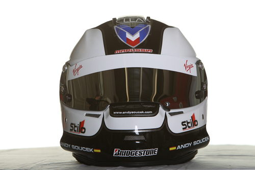 Nuevo casco para Soucek