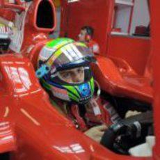 Massa en el F2008