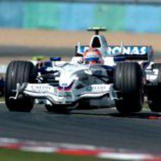 Kubica en la sesión de clasificación