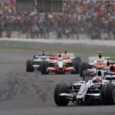 Rosberg en el GP de Francia