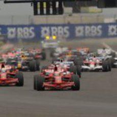 Salida del GP de Francia