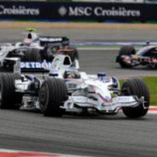 Heidfeld en el GP de Francia