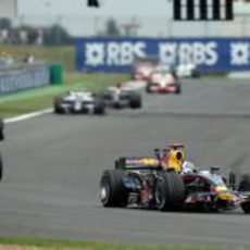 Coulthard en Magny-Cours
