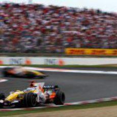 Alonso en carrera