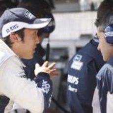 Nakajima en Silverstone