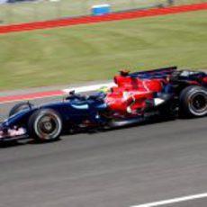 Bourdais en Silverstone
