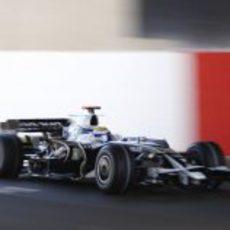 Rosberg entrena en Silverstone