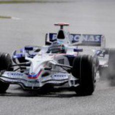 Heidfeld en Silverstone