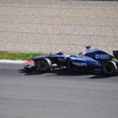 Hülkenberg rueda con el Williams