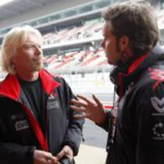 Richard Branson y Andy Soucek