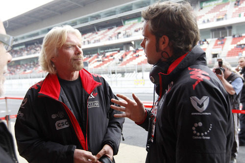 Richard Branson y Andy Soucek