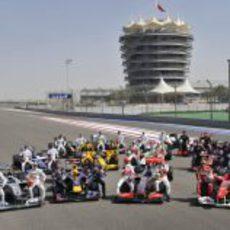 Pilotos y equipos 2010