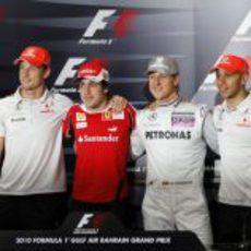Los 4 Campeones del Mundo